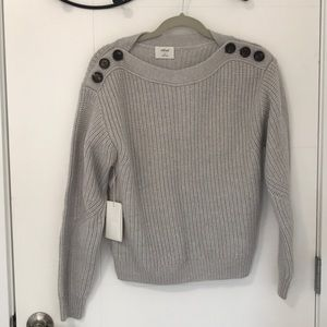 NWT- Wilfred Gray Knit Sweater